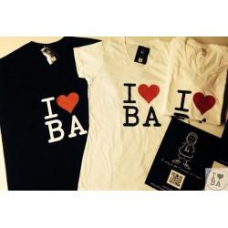 Tee-shirt homme I love BA - I love mon Bassin d'Arcachon