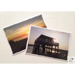 Carte postale I love BA - I love mon Bassin d'Arcachon