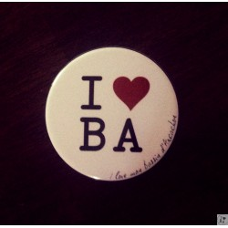 Magnet I love BA - I love mon Bassin d'Arcachon blanc I love BA - I love mon Bassin d'Arcachon